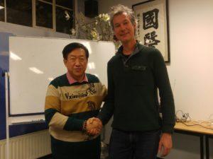 Tuina cursus met Dr. Wu